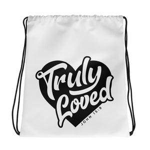 Truly Loved Drawstring bag