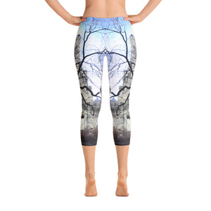 Chicago Collection:  City Church Capri Leggings