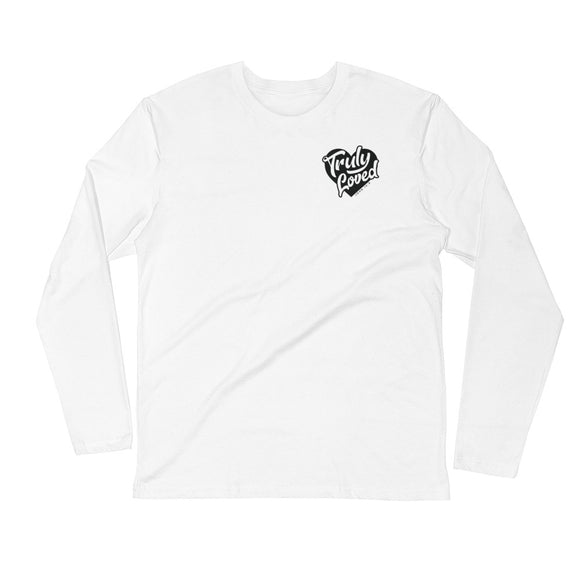 Truly Loved Super Soft Long Sleeve Fitted Crew