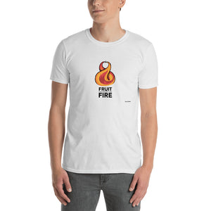 Fruit Descended with Fire - A one of a kind Ross Boone Design - Short-Sleeve Unisex T-Shirt