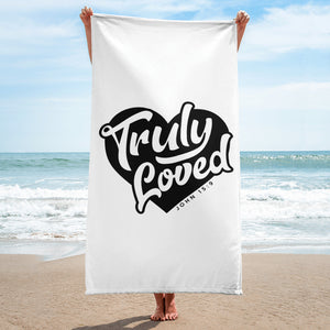 "Truly Loved Giant Towel (30""x60"")"