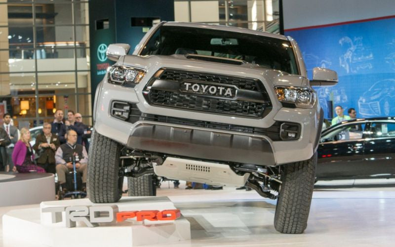 2016+ Toyota Tacoma Pro Grill OEM – Bullet Proof Fabricating