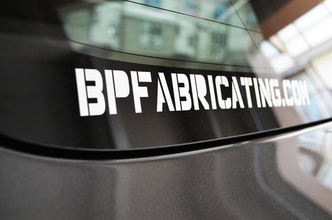 BPF Sticker - BPFABRICATING.COM