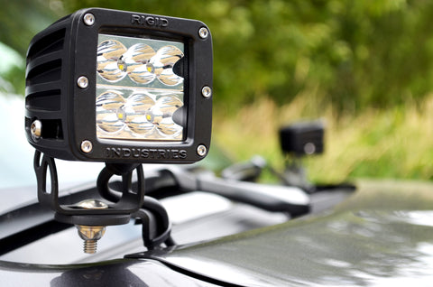Rigid Industries LED Light D2 - Wide - Single