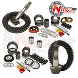 Toyota FJ Cruiser, 4-Runner, Prado 120, Hilux & Lexus GX470 without E-Locker, (Select Ratio), Nitro Front & Rear Gear Package Kit