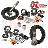 Toyota FJ Cruiser, Tacoma, Prado 120, Hilux & Lexus GX470 with E-Locker, (Select Ratio), Nitro Front & Rear Gear Package Kit