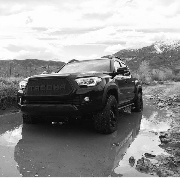 BPF - 2016-2017 Tacoma Completed Grill – Bullet Proof ...