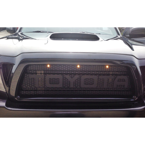 Raptor Style Grill For 2007 Toyota Tacoma Autos Post