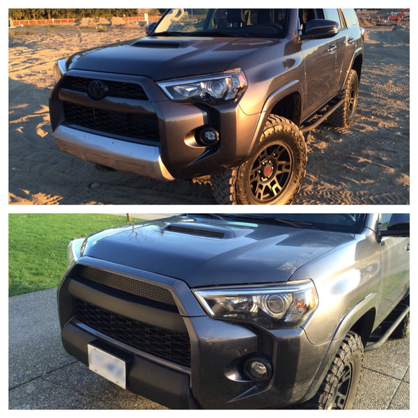 2014 Toyota Tacoma >> BPF 2014-2017 4Runner Pro Grill Mesh and Bumper Cap Mod – Bullet Proof Fabricating