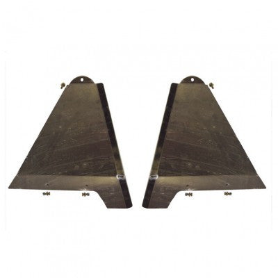 Total Chaos Long Travel Lower Control Arm Skid Plates +3.5""