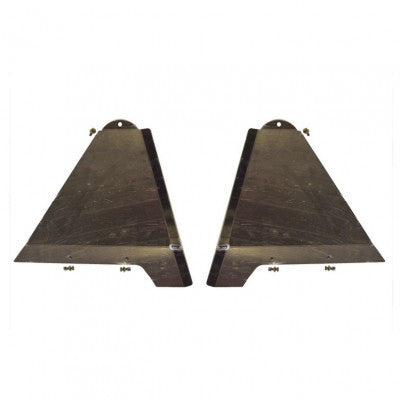 Total Chaos Long Travel Lower Control Arm Skid Plates +2""