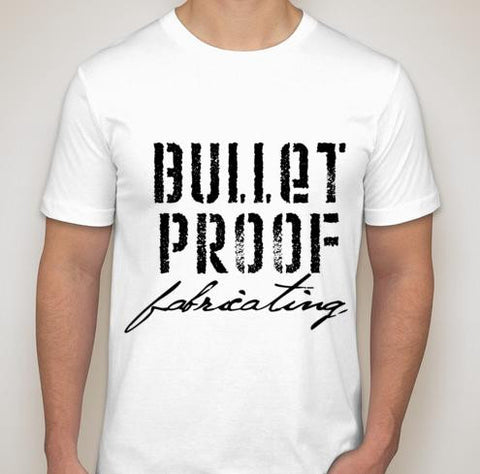 BPF Bullet Proof Fabricating T-Shirt - White