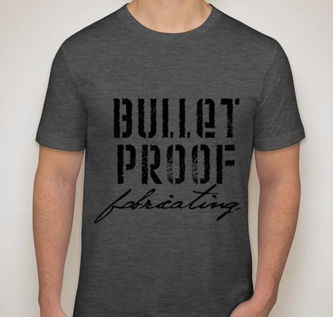 BPF Bullet Proof Fabricating T-Shirt - Grey
