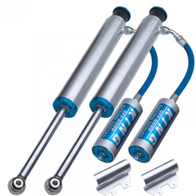 Rear Long Travel King Shocks 2.5 With Remote Res For 03+4runner/ 06+FJ Cruiser