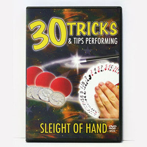 30 Tricks & Tips With Sleight Of Hand