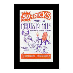 50 Tricks With A Thumb Tip Book By Milbourne Christopher
