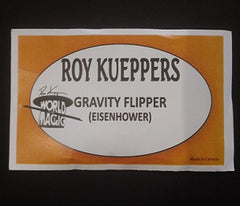 Eisenhower Gravity Flipper by Roy Kueppers