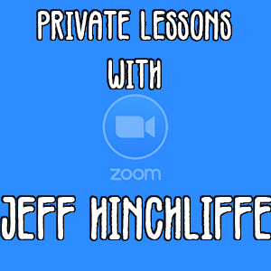 Live Lessons Online with Jeff Hinchliffe (aka Young Jeff)