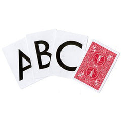Alphabet Deck - Bicycle