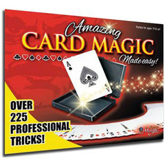 Amazing Card Magic Made Easy Magic Set/Kit