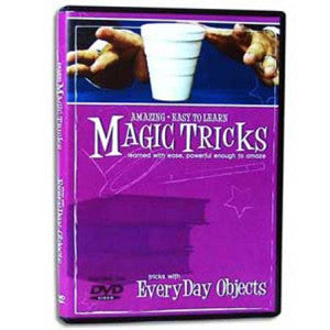 Amazing Easy To Learn Magic Tricks, With Everyday Objects DVD