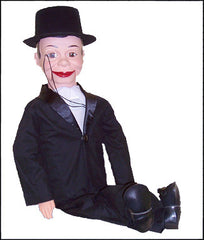 Charlie McCarthy Pro-Style Ventriloquist Doll