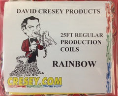 Cresey Mouth Coils - Regular Size (25ft.) Rainbow