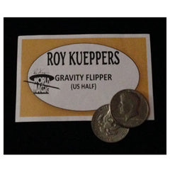 Gravity Flipper Coin U.S. Half Dollar By Roy Kueppers