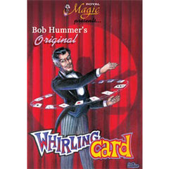 Bob Hummer's Whirling Card (aka Humming Bird Card or Helicopter Card)