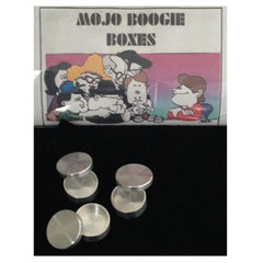 Mojo Boogie Boxes, Loonie Aluminum By Roy Kueppers