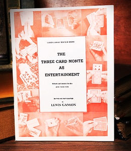 The Three Card Monte as Entertainment (Ganson Teach-In Series)