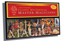 Classic Mysteries Of The Master Magicians Magic Set/Kit
