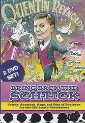 Bring Back the Schtick (2 DVD Set) by Quentin Reynolds