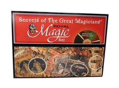 Secrets Of The Great Magicians' Magic Set/Kit With Instructional DVD