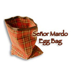 Senor Mardo Eggbag, Red By Martin Lewis