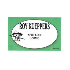 Split Coin Loonie By Roy Kueppers