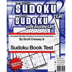 Sudoku Book Test by World Magic Shop and Scott Creasey