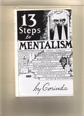 13 Steps To Mentalism Book By Corinda