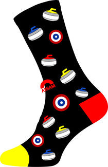 Asham Graphic Socks