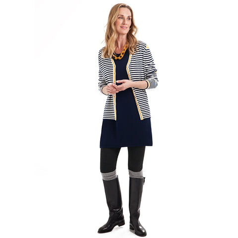 THREE STRIPE CARDIGAN