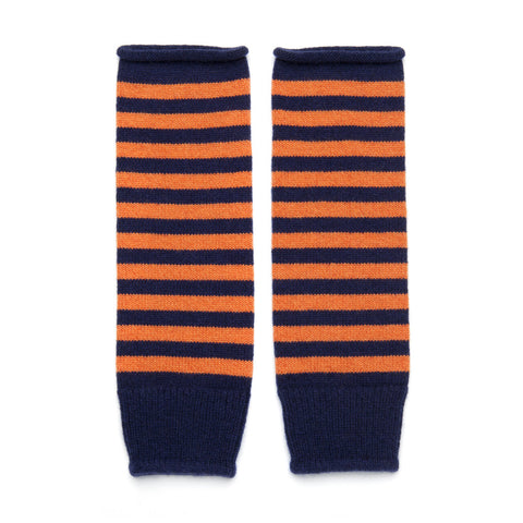 STRIPED WRISTWARMERS
