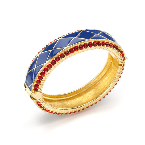 HARLEQUIN HUDDLE CUFF (FULL ENAMEL)