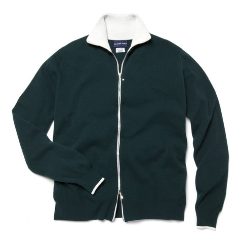 FIELD HOUSE ZIP SWEATER