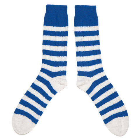 CORGI CASHMERE STRIPED SOCKS