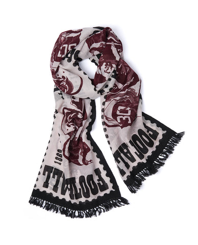 FOOTBALL STAMP SCARF