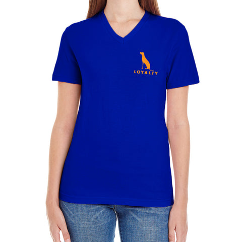 WOMEN'S V-NECK LOYALTY T-SHIRT