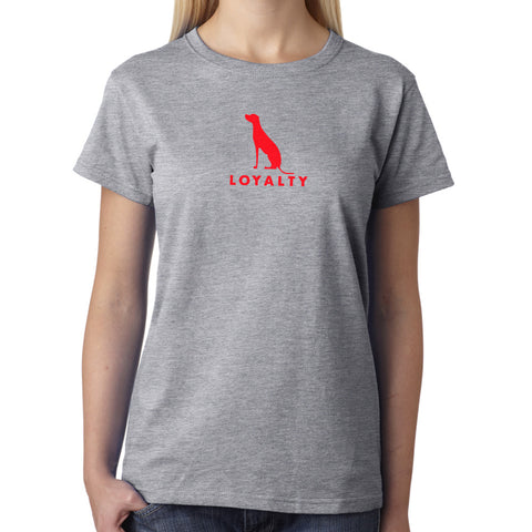 WOMEN'S CREW LOYALTY T-SHIRT