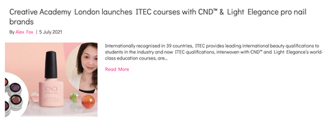 https://www.scratchmagazine.co.uk/news/creative-academy-london-launches-itec-courses-with-cnd-light-elegance-pro-nail-brands/