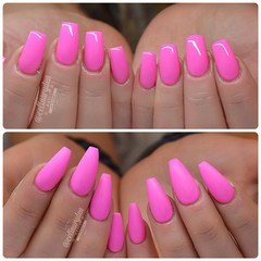 Super Shiny or Flat Matte? Choices, choices...