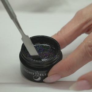 Smokin' Hot Pepper UV/LED Glitter Gel